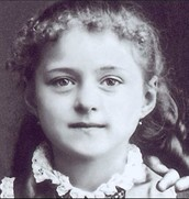 St Therese as a Child