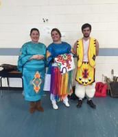 Catawba Indian Nation sharing with students on Enrichment Day!