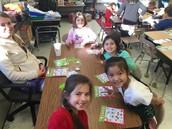 Holiday Bingo in 1st Grade