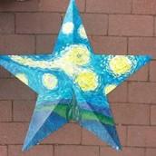 Starry Night - Barn Star
