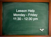 No Virtual Lessons This Week!