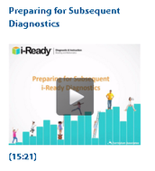 TEACHERS:  Preparing for Subsequent Diagnostics
