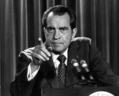 Nixon resigns 1974