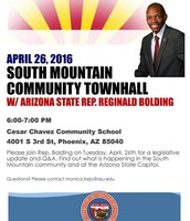 Rep. Bolding hosts a Town Hall 04/26- 6 pm
