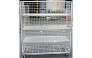 4 Shelf Trolley with Cage