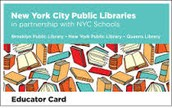 MyLibraryNYC News: library card assitance March 24th