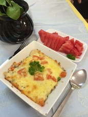 Healthy Baked Rice