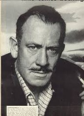 John Steinbeck; the author of Of Mice and Men