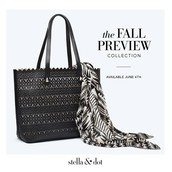 Fall Preview bag and scarf