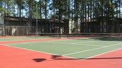 Practice Your Backhand On One Of Our Two Tennis Courts!