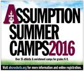 """Campamento de Verano """"Assumption High School"""""""