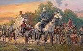 Robert E. Lee on a horse