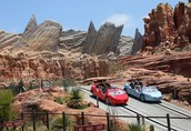 How the movie Cars turned into a theme park