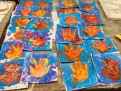 PreK-3 Hand Molds in Mrs. Ginny's Class