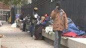 Homelessness throughout the city regarding Children