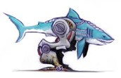 Haven't you ever wanted a mutant robot dolphin?
