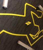 Crime Scene Victim Body Outline