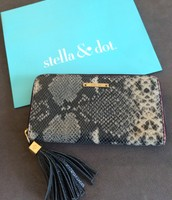 SOLD Mercer Snake Wallet $50