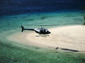 Our Helicopter lands