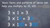 Multiplying by Multiples of 10 and 100 Lesson 3-3 & 3-4