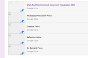 Upload Your Four Pieces to Google Classroom