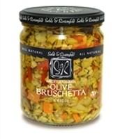 A case of Sable & Rosenfeld Olive Bruschetta Topping 16 oz (6 jars)