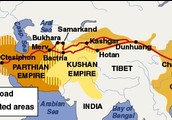 6. What kind of products were exchanged on the Silk Road?