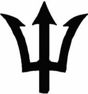 Poseidons Symbol
