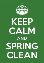 Spring is here and it's time to do a little cleaning!