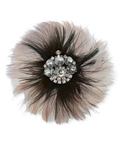 Plume Brooch - Puple