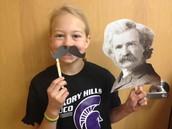 Mark Twain Selfies