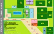 Il centro sportivo ed i suoi campi