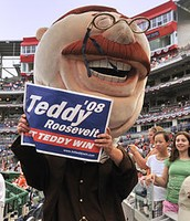 Mascot Teddy