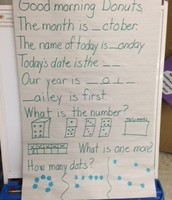 Morning Message- Mrs. G's kinder class!