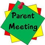 1st-4th Grade Parent Orientation Meetings