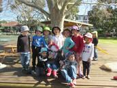 Meet Gideon -our Preschool Scarecrow!