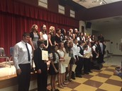 NJHS Inductees for 2015-16