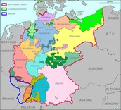 Holy Roman Empire Map