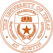 The logo of the university
