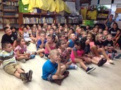 Kindergarteners Beat the Heat