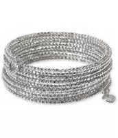 Bardot Spiral Bangle Silver