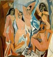 Las señoritas de Avignon.