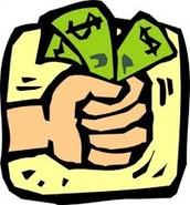 We accept cash!