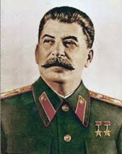 About Stalin.