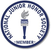 NJHS Member Decal