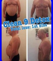 Dave Johnson 1stone 5lbs weight loss and 22 inches