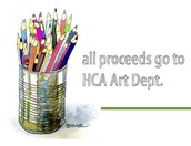 Come see artwork from HCA students across the grade levels!