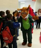 Book character Geronimo Stilton visits the KIS Book Fair