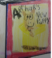 """Aubrie's cover of """"Arthur's New Puppy""""!"""