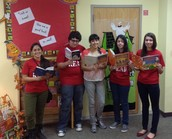 SHS Book Club Members Volunteer @ RD Martinez